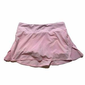 Lululemon Run Pace Play Off the Pleats Skirt Skort